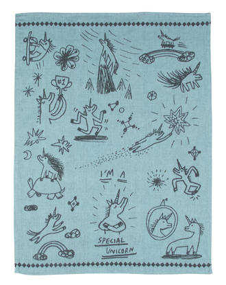 Blue Q Dish Towels - Special Unicorn