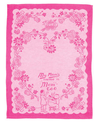 Blue Q Dish Towels - Mom's Name is Mom Too