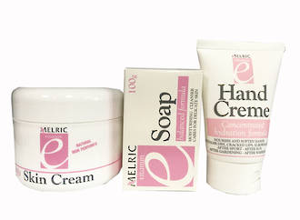Vitamin E Set - Skin Creme/Hand Creme/Soap