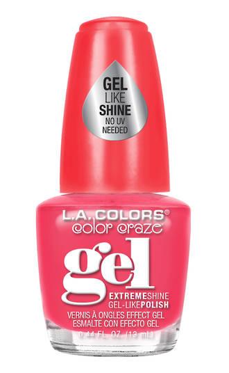 LA Colors Gel Shine Polish - What's up?