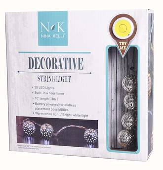 Decorative String Light LED Novelty Balls Dewdrop