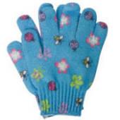 Exfoliating Printed Bath Glove