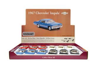 1967 Chevrolet Car Display - 12pcs