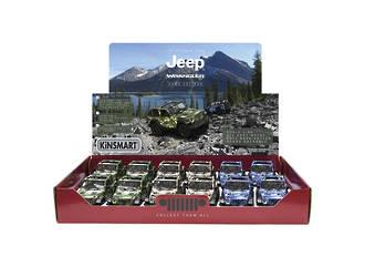 2018 Jeep Wrangler Camo Car Display - 12pcs