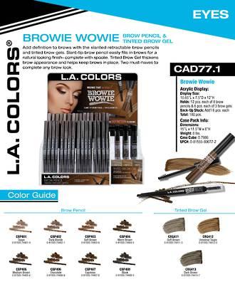LA Colors - Browie Wowie Display - 180pcs