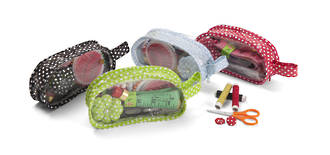 12pc Zip Purse Sewing Kit