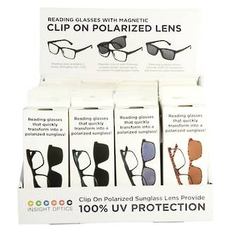 Unisex Reader with Polarized Clip Display - 20pcs