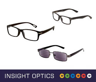 Insight Optics Men's Reading Glasses $24.95