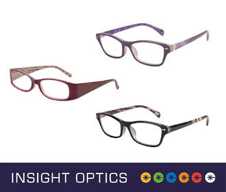 Insight Optics Women's Reading Glasses $19.95