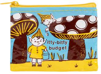 Blue Q Coin Purse - Itty Bitty Budget
