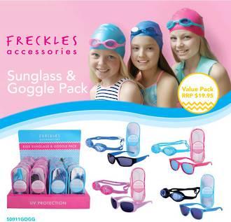 Aspect Kids Sunglass & Goggle Display - 16pcs