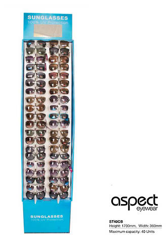 Aspect Sunglass Display Stand - 40pcs