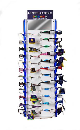 Insight Optics Reading Glasses Stand - 48pcs