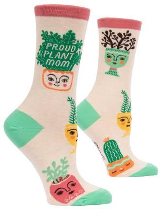 Blue Q Socks - Proud Plant Mom
