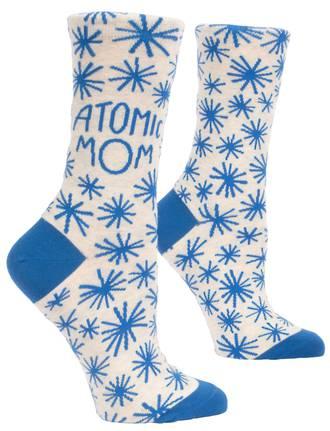 Blue Q Socks - Atomic Mom
