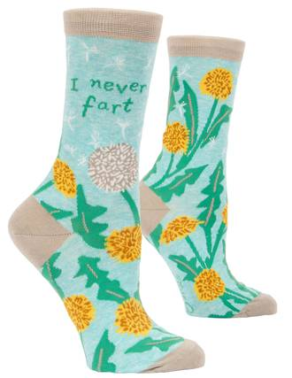 Blue Q Socks - I Never Fart