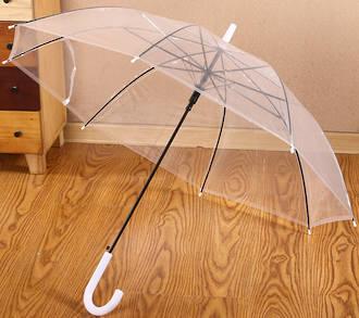 "Accosca Auto Open Umbrella 23"" - Transparent"