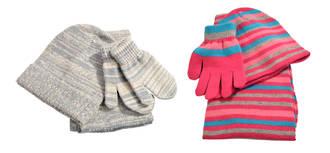 Kid's Hat, Gloves & Scarf Set