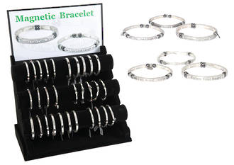 Magnetic Bracelet Affirmation Display - 30pcs