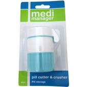 Medi Manager Pill Cutter/Crusher/Storage