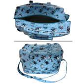 Weekend Bag  Blue Floral