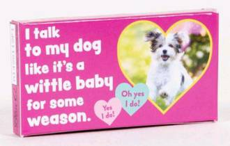 Chewing Gum (20pcs) - I Talk To My Dog