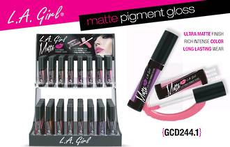 LA Girl Matte Pigment Gloss Display