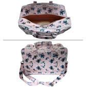 Weekend Bag  Pink Floral