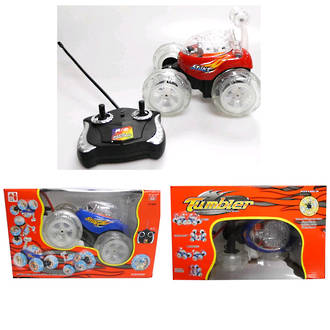 Remote Control Stunt Car With Lights