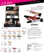 LA Girl PRO.Conceal Extended Shades Display - 135pcs