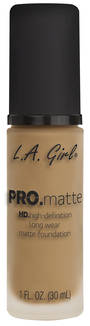 LA Girl Pro Matte Foundation - Medium Beige