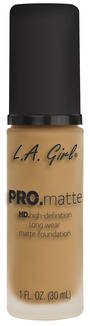 LA Girl Pro Matte Foundation - Light Tan
