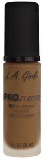 LA Girl Pro Matte Foundation - Nutmeg