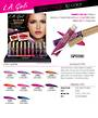 LA Girl Glitter Magic Lip Color Display - 30pcs