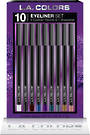 L.A. Colors Holiday Set - 10pc Eyeliner Set 6pcs