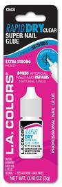 LA Colors Rapid Dry Nail Glue - 3g Clear