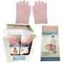 Moisturising Gel Gloves Pink - Display