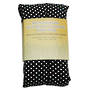 Rectangle Heat Pack - Black Polka Dot