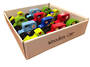 Small Wooden Cars Display - 12pcs