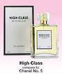 Womans EDP 100ml - High Class