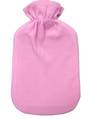 Microfiber Hot Water Bottle Cover - Pink