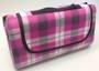 Fleece Picnic Blanket - Pink