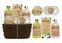 Women's Fresh Therapy Rope Basket Gift Set 5pc