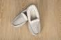 Unisex Sherpa Slippers Grey XLarge
