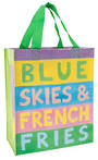 Handy Tote - Blue Skies French Fries