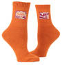 Blue Q Tag Socks - Get The Hell Outside Large/Extra-Large