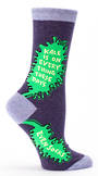 Blue Q Socks - Kale