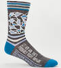 Blue Q Men's Socks - Let Her Win, She's Probably Right Anyway
