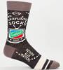 Blue Q Men's Socks - Sunday Socks