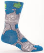 Blue Q Men's Socks - Sure, I'm Listening